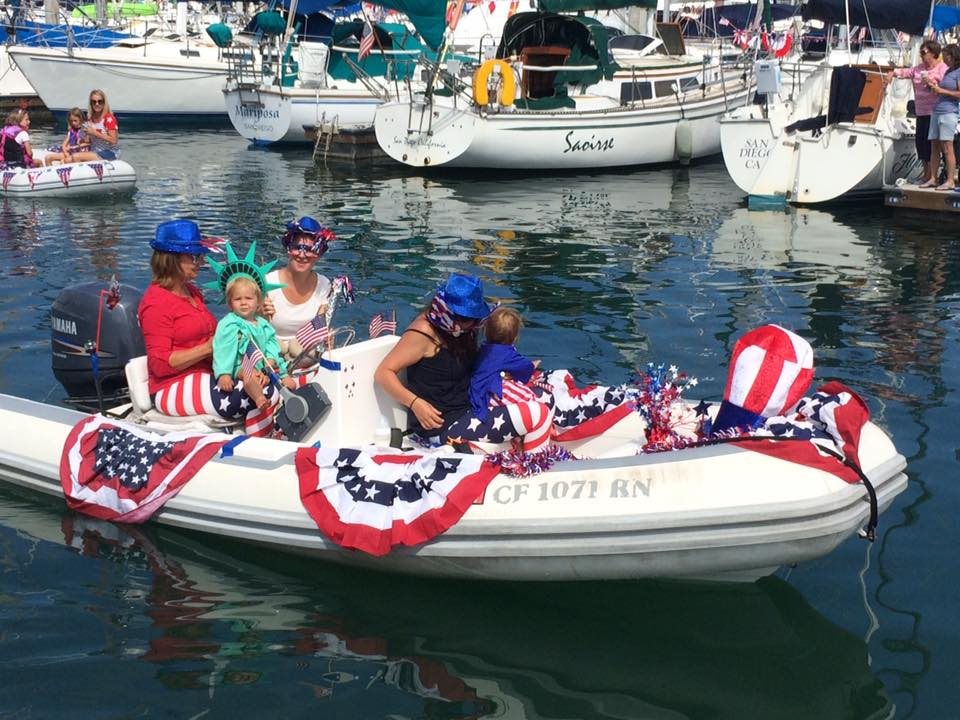 4th of July Dinghy Parade